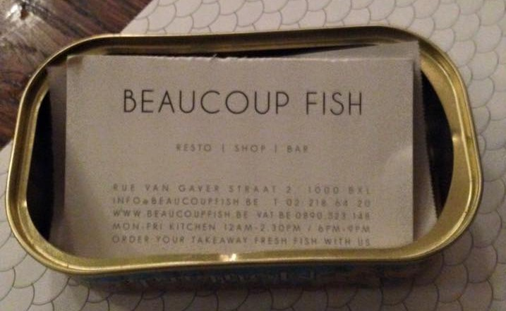 Beaucoup Fish – Brussel
